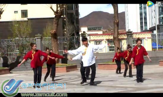昌都市非遗民族舞蹈进校园广播体操